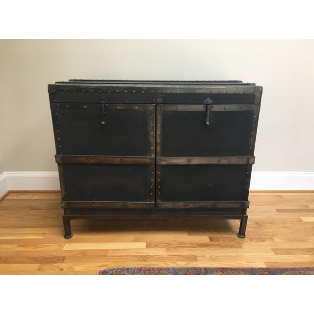 Dry Bar Trunk Cabinet - Image 2 of 5