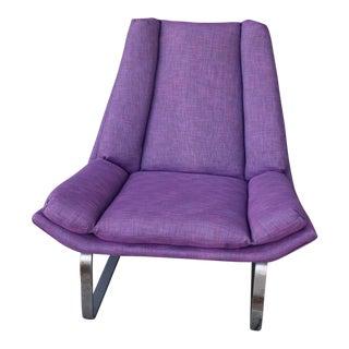 Modern Purple Lounge Chair