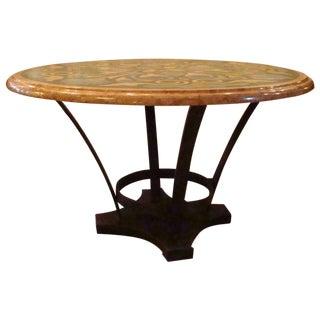 Italian Pietra Dura Marble Table