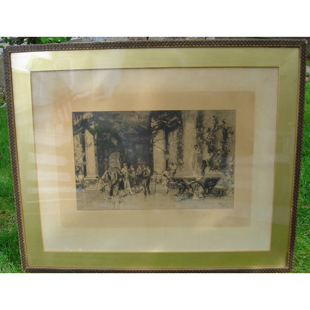 19th C Engraving - Signed/Numbered - Image 2 of 4