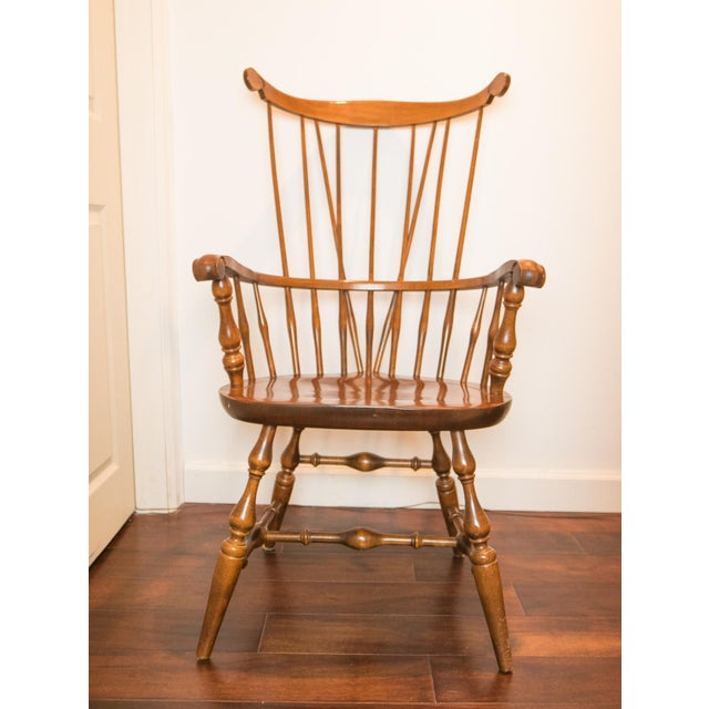 High Comb Back Windsor Chair - Image 2 of 6