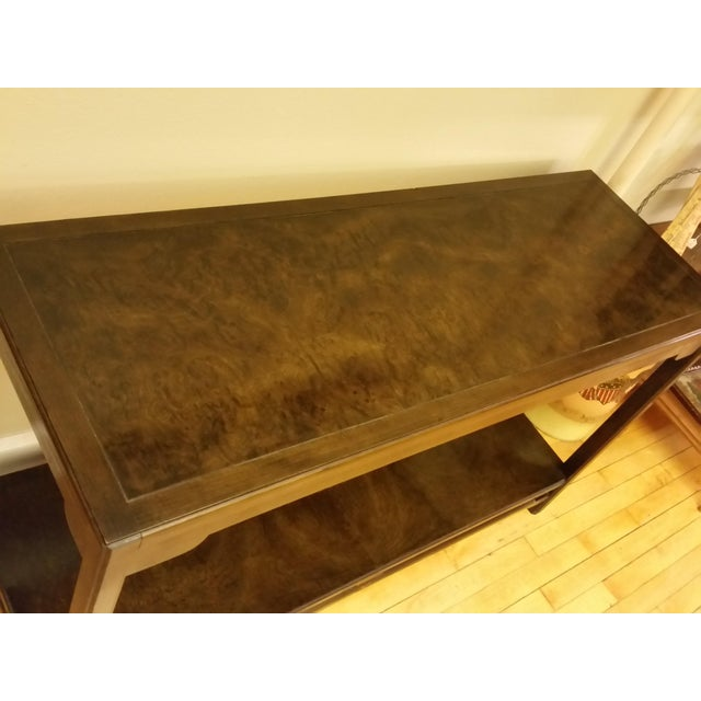 Image of Thomasville Burlwood Sofa Table