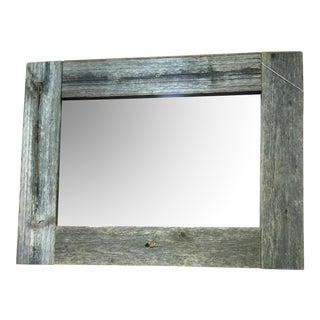 Rustic Barn Wood Framed Mirror