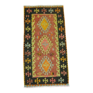 Turkish Kilim Rug -1'8'' X 3'2''