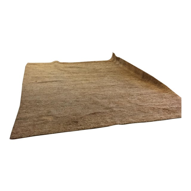 West Elm Soft Jute Floor Rug 9 39 X 11 39 9 Chairish