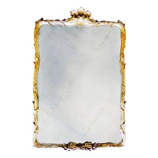 Rococo Gold Gilt Wood Wall Mirror