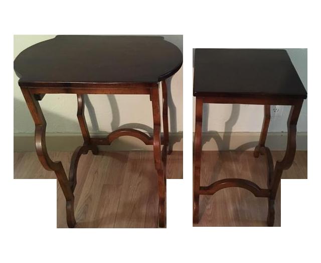 Baker Furniture Milling Road Nesting Tables
