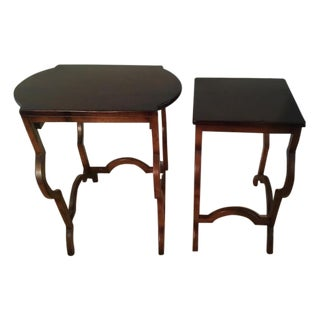Baker Furniture Milling Road Nesting Tables