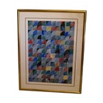 """Image of Ann Thornycroft Abstract Lithograph Titled """"Anel"""""""