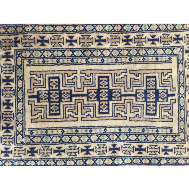 Image of Turkaman Persian Rug - 1′9″ × 2′9″