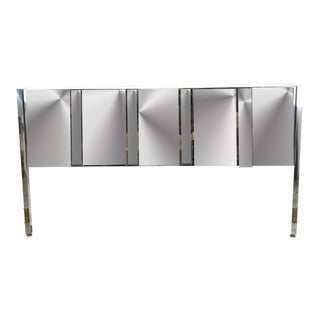 Mirrored King Size Headboard