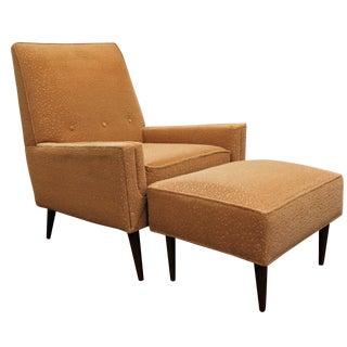 Kroehler Adrian Pearsall-Style Lounger & Ottoman