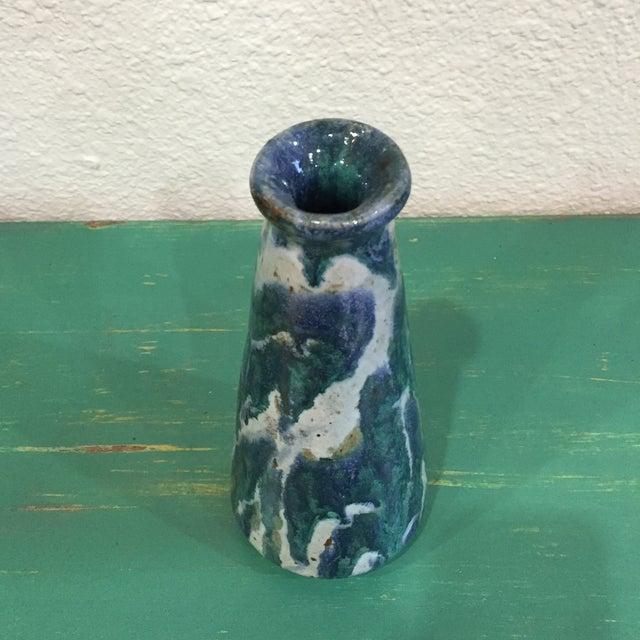 Image of Vintage Handmade Ceramic Vase