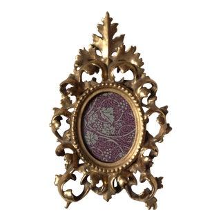 Antique Florentine Gilded Frame