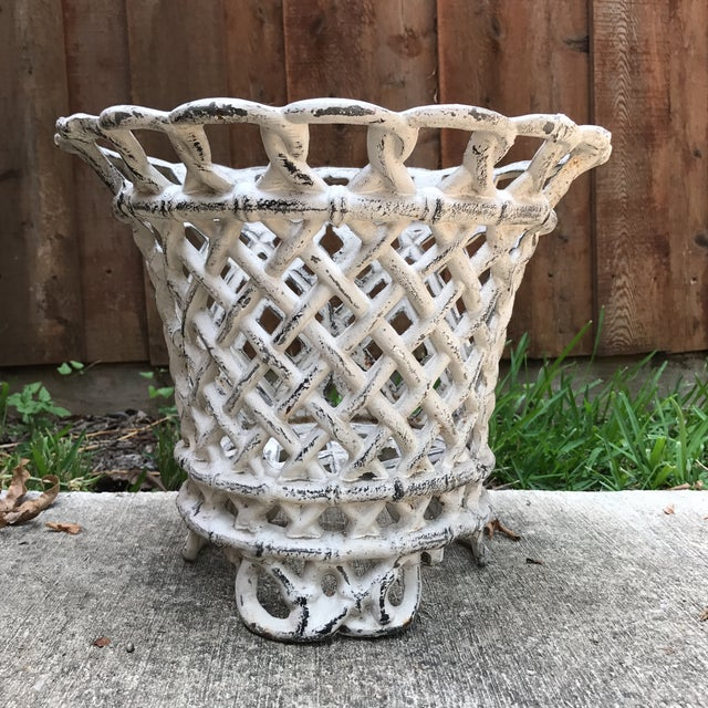 Cast Iron Plant Container - Image 2 of 6