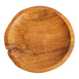 Reclaimed Teak Wood Plate