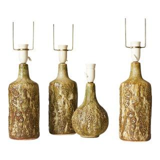 A set of Jorgen Mogensen lamps for his own studio