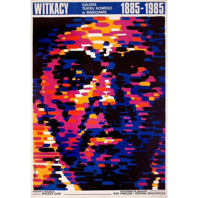 Image of Witkacy Witkiewicz Polish Poster