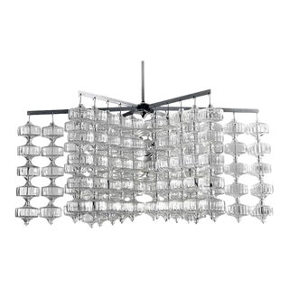 Large and Rare Aloys Gangkofner Chandelier