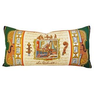 "Custom Hermes ""Salzburg"" Loïc Dubigeon Pillow"