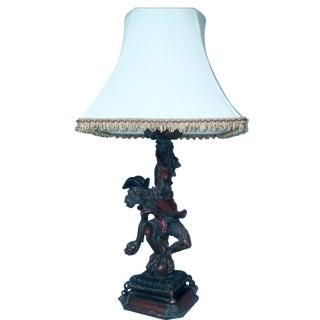 Vintage Monkey Table Lamp