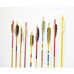 Image of Vintage Neutral Colored Wood Arrows - Set of 10