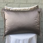 Image of Metallic & Chenille Embroidered Pillows - Pair