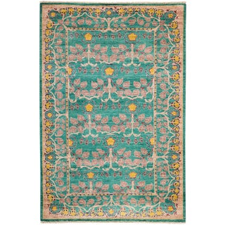 "Arts & Crafts, Hand Knotted Area Rug - 5' 0"" X 7' 8"""