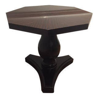 Ralph Lauren Pedestal Side Table