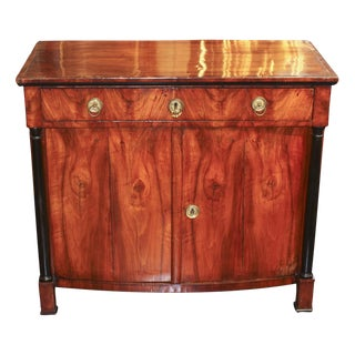 Period Empire Mahogany Buffet