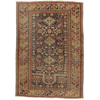 RugsinDallas Antique Russian Wool Rug - 3′6″ × 9′