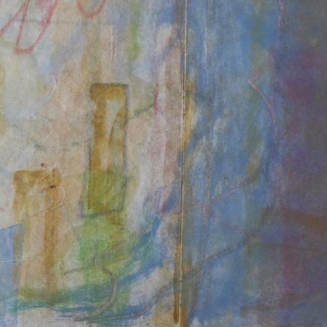 1998 Christopher Le Brun Untitled Abstract Monotype - Image 5 of 7