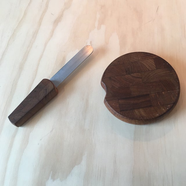 Dansk Cheeseboard with Knife - Image 6 of 6