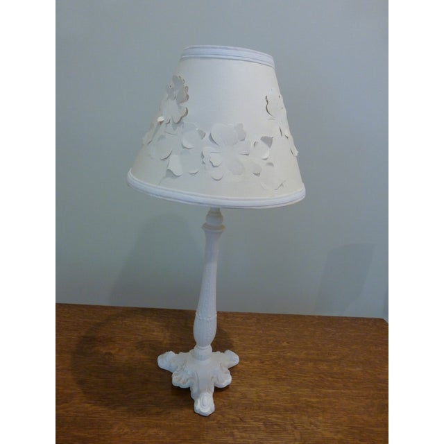 Image of Vintage White Table Lamp
