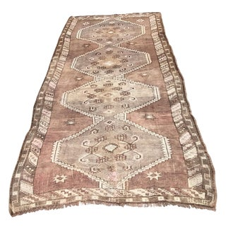 Turkish Oushak Rug - 4′5″ × 10′1″