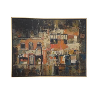 MCM City Street Abstract Painting by Paul Ryan