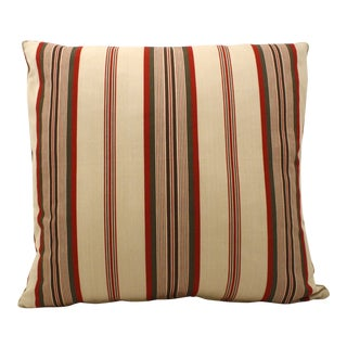 French Custom Ticking Pillow