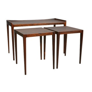 Mid Century Nesting Tables by Kurt Ostervig