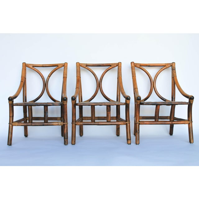 Ficks Reed Dining Chairs - Set of 6 - Image 6 of 8