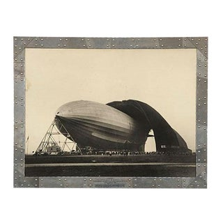 "Margaret Bourke White ""Airship Akron"" Photograph"