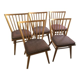 Russel Wright Conant Ball Dining Chairs - Set of 5
