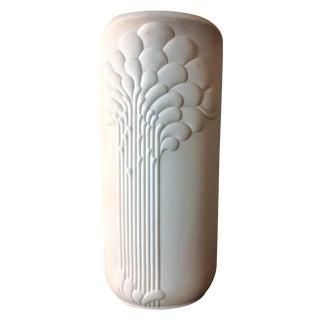 German Porcelain Michaela Frey Op Art Tall Vase