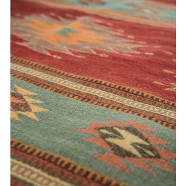 "Vintage Mexican Zapotec Pictorial Rug At 1stdibs: Vintage Red Zapotec Rug - 2'6"" X 5'"