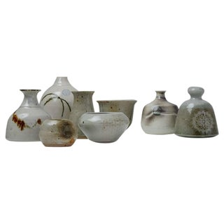 Franco Agnese Set of Eight Ceramic Pieces, France, 1960s