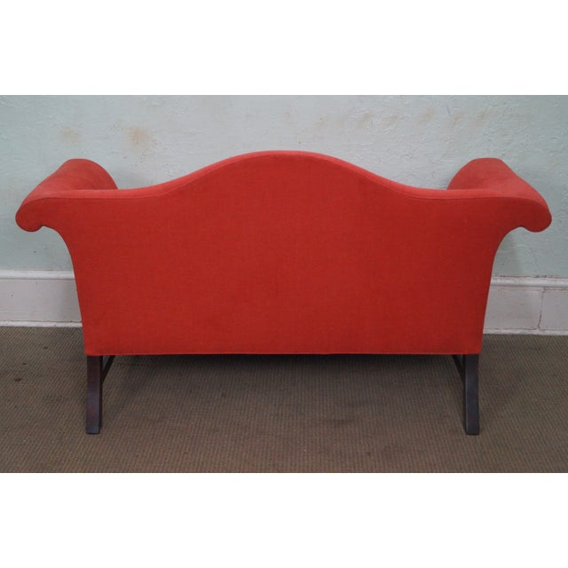 Kittinger Colonial Williamsburg Adaptation Chippendale Style Loveseat - Image 4 of 10