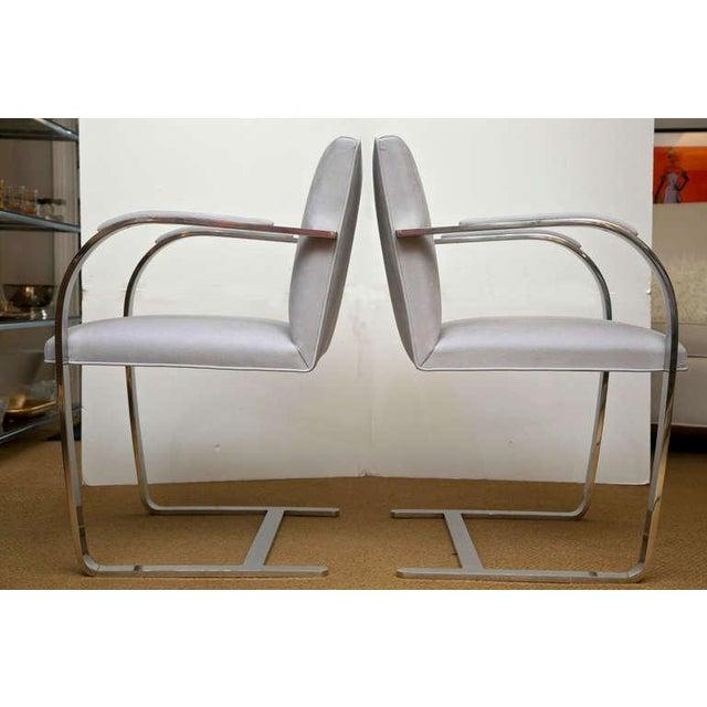 Set of 4 Vintage Ludwig Mies van der Rohe Brno Chairs - Image 2 of 7