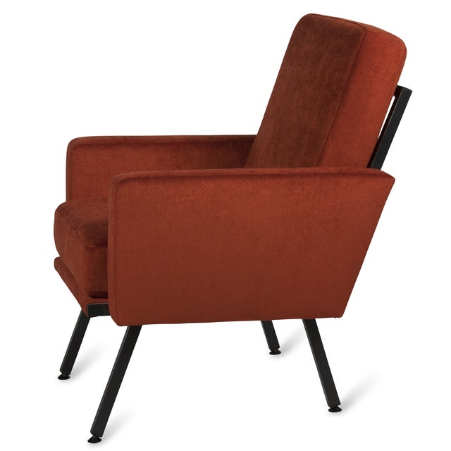 Guariche Style Armchairs, French 1950s - Pair - Image 5 of 5