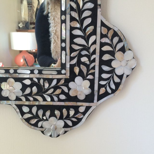 Mother of Pearl Inlay Mirror - Image 2 of 5