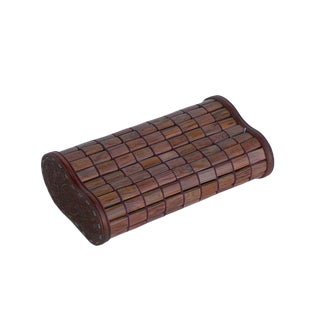 Chinese Huanghuali Rosewood Tile Pillow