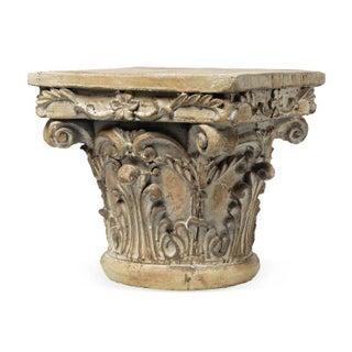 Corinthian Capital Decorative Pedestal